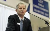 School board President Bob Jensen