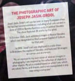Photographic Art of Joseph Jasik-Drdol