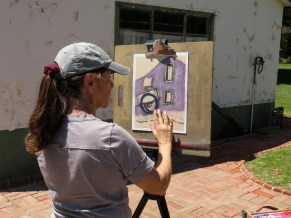 Artists' Day at Rancho Camulos 5-14-2016