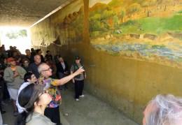 Placerita Nature Center Mural, 40th Annversary, 5-23-2016