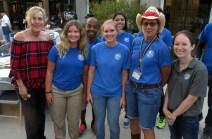 Supervisor Kathryn Barger, Hart Park staff