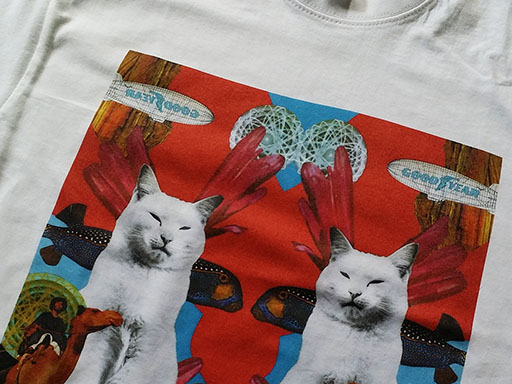 T-shirts cat lovers Cardiff