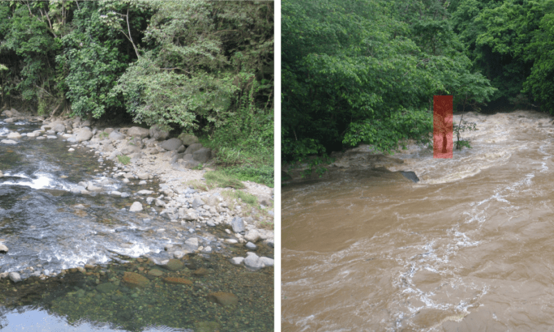 Extreme rainfall doesn't always mean extreme erosion ...