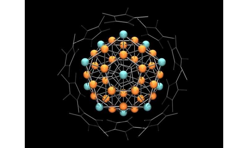 heterometallic copper aluminum super