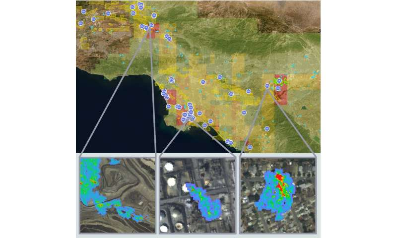 A third of California methane traced to a few super-emitters