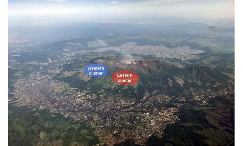 underground links between quakes