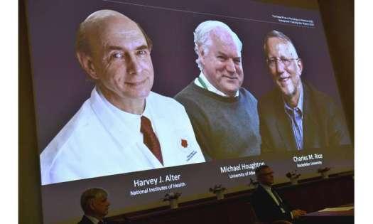 3 win Nobel medicine award for discovering hepatitis C virus