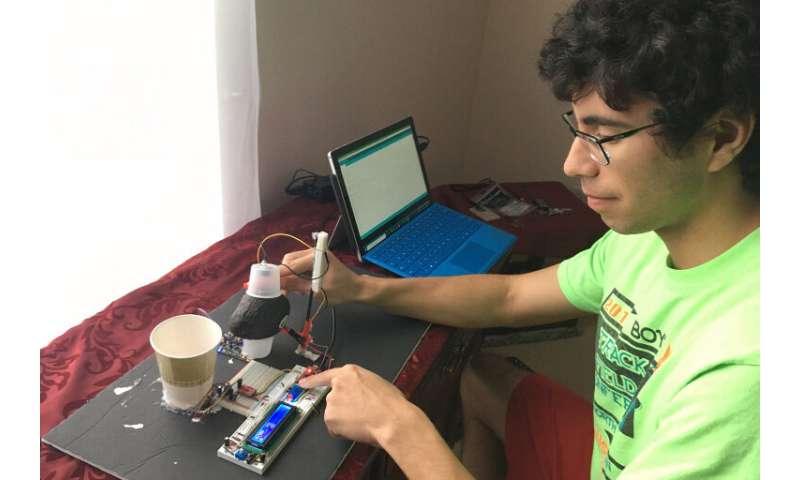 Student-developed device predicts avocado ripeness