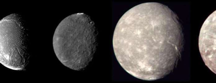 Uranian moons in new light