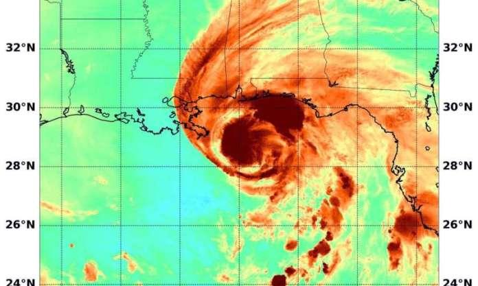 NASA Aqua satellite casts three eyes on sally and finds heavy rain potential