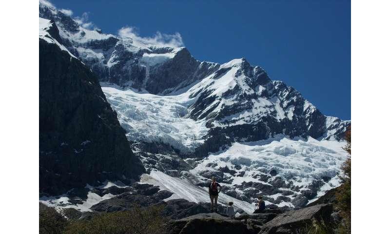 El derretimiento del glaciar de los Alpes del Sur de Nueva Zelanda se ha duplicado