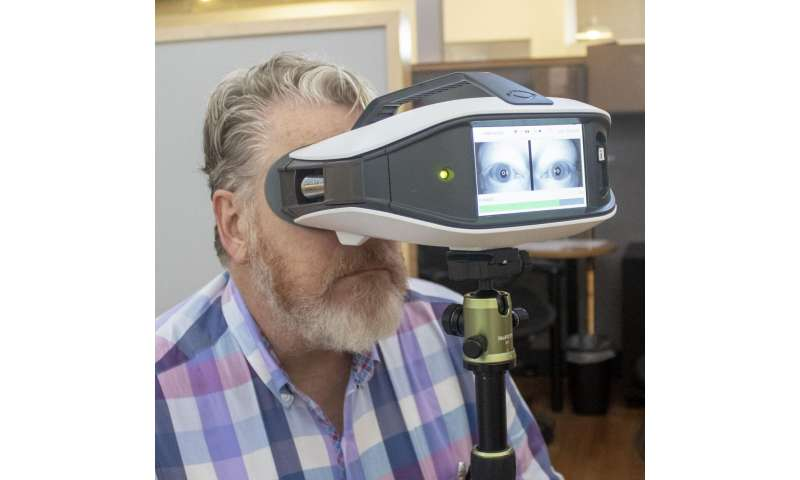 Portable device to monitor the blink reflex cleared by ...