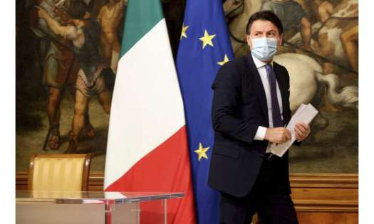Italy imposes partial lockdown for Christmas holiday