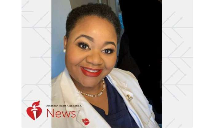 AHA news: stroke at 39 fuels 'Nurse knuckles' to transform career