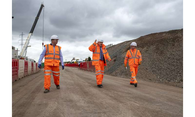 Construction starts on Britain's high-speed rail project