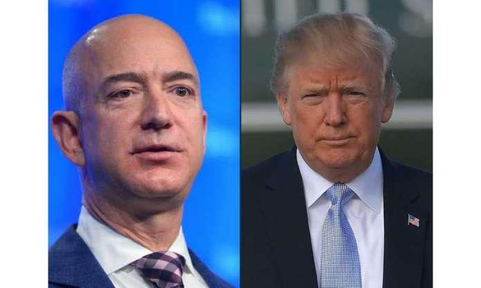 A Amazon diz que a gigante da tecnologia perdeu um grande contrato de computação em nuvem do Pentágono por causa da animosidade do presidente Donald Trump por sua