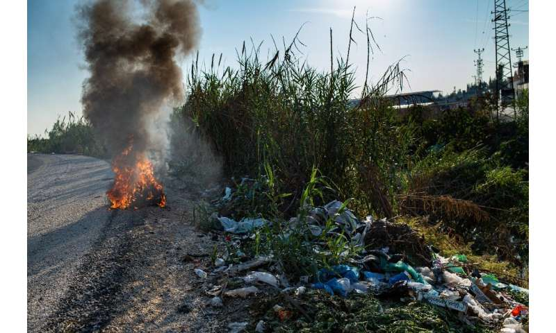 Turkey: Europe's top destination for... trash  Dumped illegally alongside roadsides, some of the plastic waste is burned to get to metal, letting noxious fumes into the air