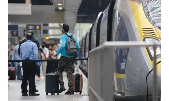 Eurostar trains from Paris to London may soon be filled with Britons scrambling to return from holiday