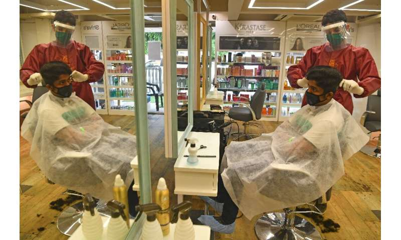 India now has more than 500,000 confirmed virus cases, although a nationwide lockdown is gradually being  eased