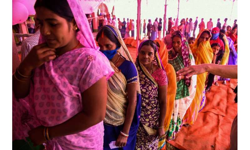 Some 70 million people are eligible to vote in Bihar, making this poll the world's biggest vote since the coronavirus emerged