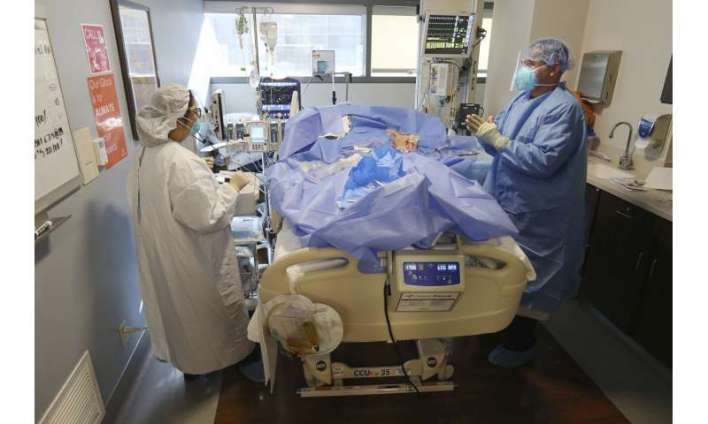 Virus pushes some California hospitals near ICU capacity