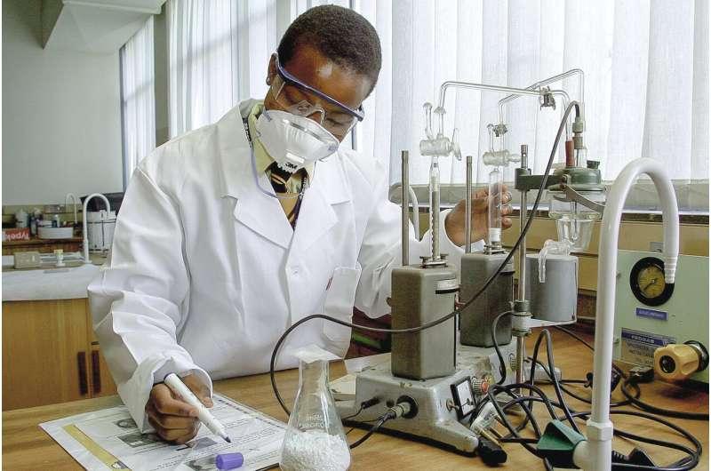 black scientist