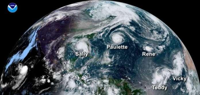 2021 में फिर से औसत-अटलांटिक अटलांटिक तूफान गतिविधि की उम्मीद थी