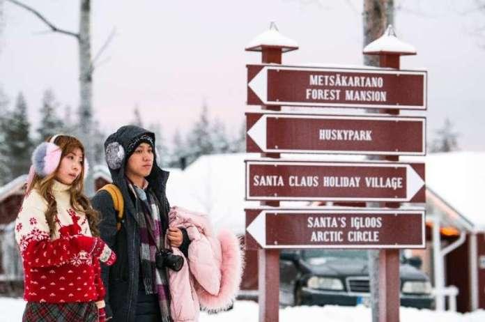 उत्तरी फिनलैंड में लैपलैंड में पर्यटन महामारी की शुरुआत से पहले रिकॉर्ड स्तर पर पहुंच गया था