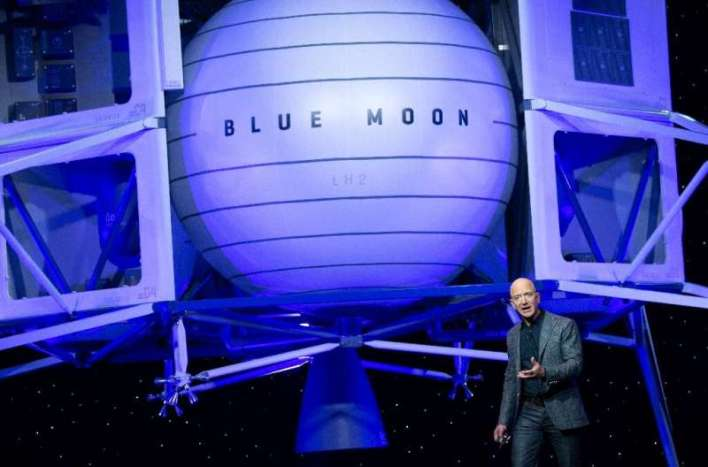 Bezos-founded space company Blue Origin has protested NASA's choice of Musk's SpaceX team to build a module that will land the n