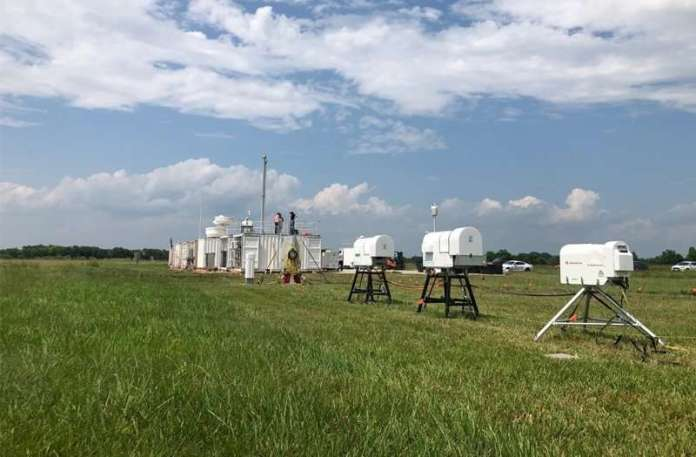 Collecting new data on atmospheric particles for storm forecasting and climate models
