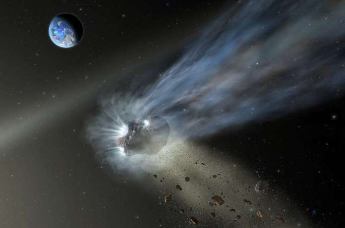 Comet Catalina suggests comets delivered carbon to rocky planets