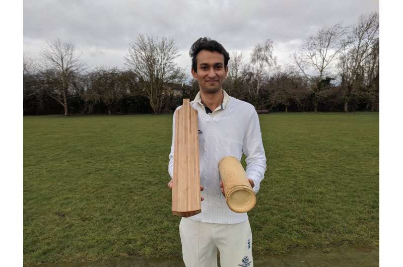Cricket bats should be made from bamboo not willow, Cambridge study finds