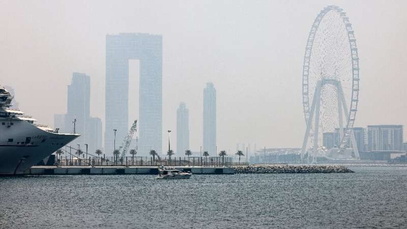 Oil-rich Gulf faces prospect of unlivable heat as planet warms  Daily temperatures in Dubai regularly top 40 degrees Celsius (104 degrees Fahrenheit) for several months of the year, and are ex