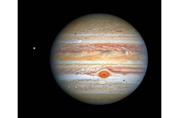 Europa is one of Jupiter's four moons