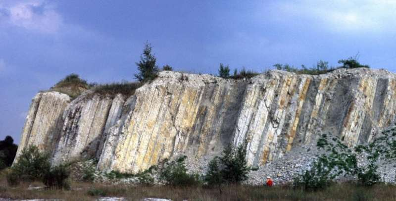 'Golden nail': Quarry near Salzgitter becomes global geological reference point