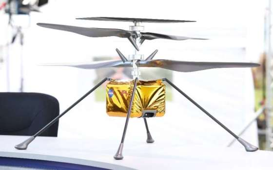 NASA especially wants to fly a motor plane for the first time on another planet - a helicopter, called ingenuity, will have