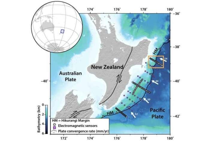 New study helps explain 'silent earthquakes' along New Zealand's North Island