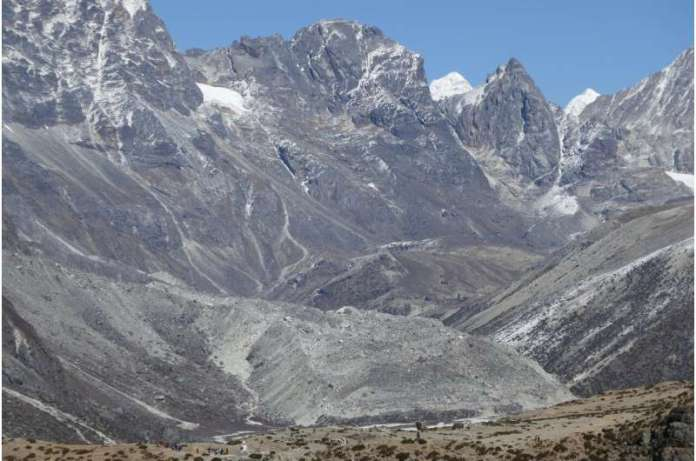 रॉक हिमनद हिमालय की बर्फ के पिघलने को धीमा कर देंगे