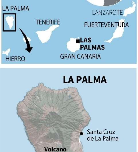 Spain: volcanic eruption in Canary Islands