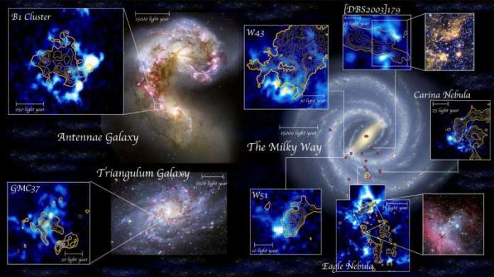 Star formation is triggered by cloud-cloud collisions, study finds