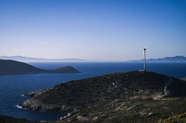 Tilos is 100 percent energy independent for most of the year, though that rate dips to 70 percent during the summer due to the h