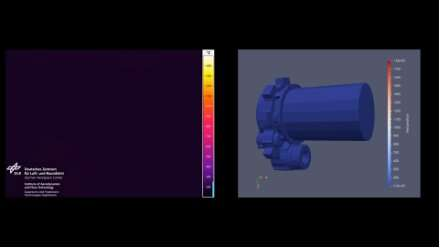 Video: Simulating atmospheric reentry in a plasma wind tunnel