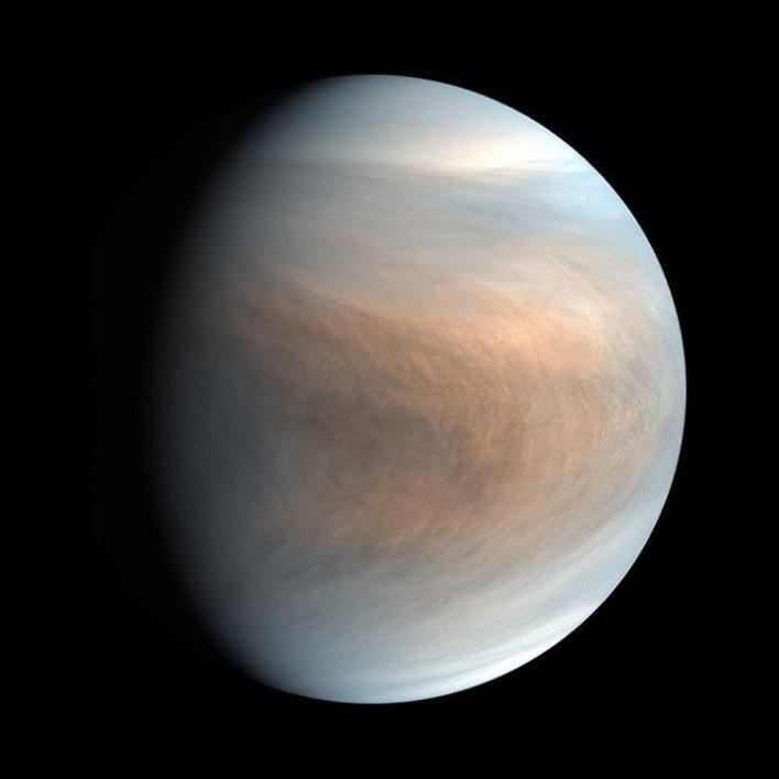 Hints of life on Venus