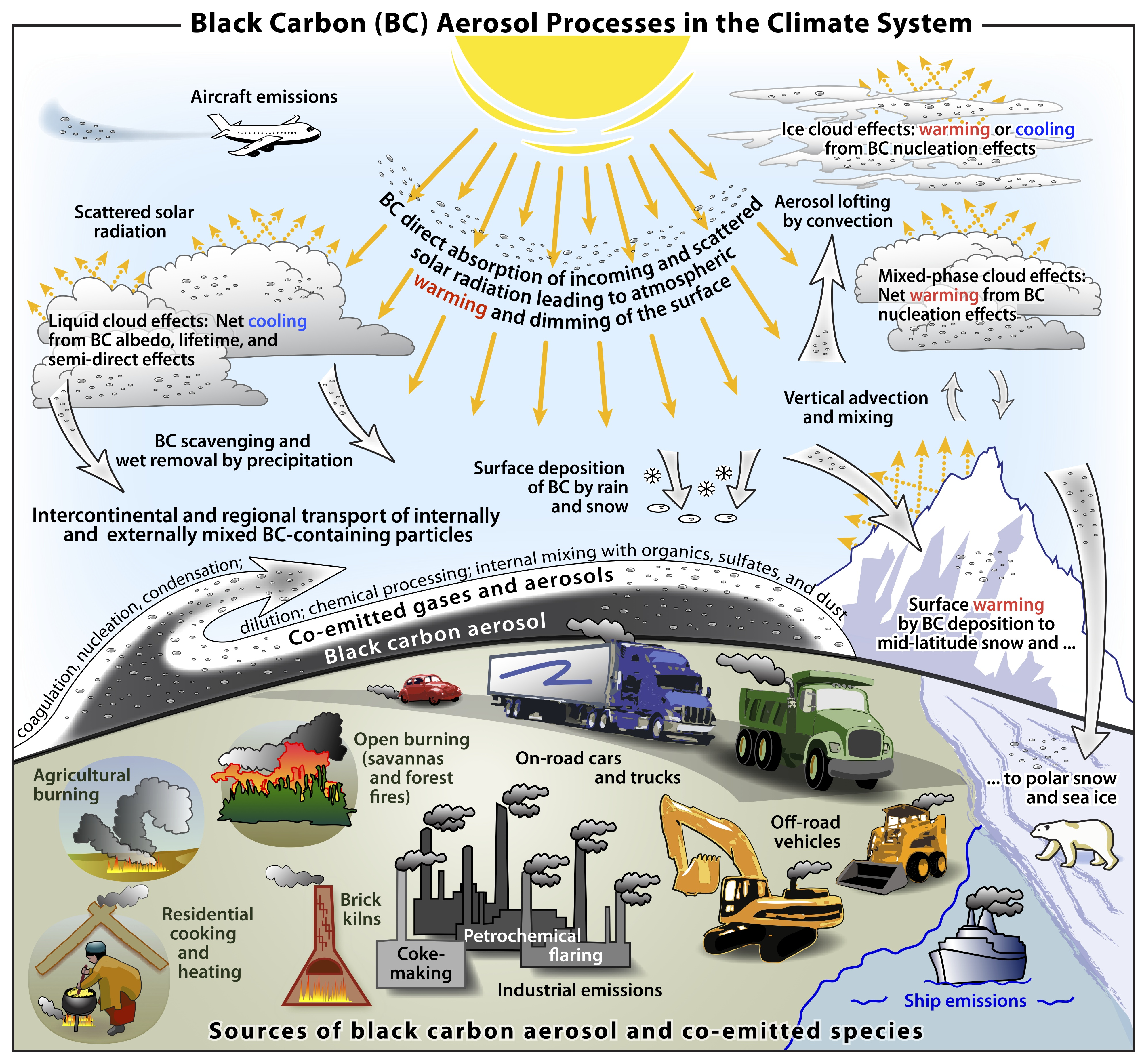 Black Carbon Larger Cause Of Climate Change Than