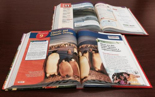 small resolution of California 6th grade science books: Climate change a matter of opinion not  scientific fact