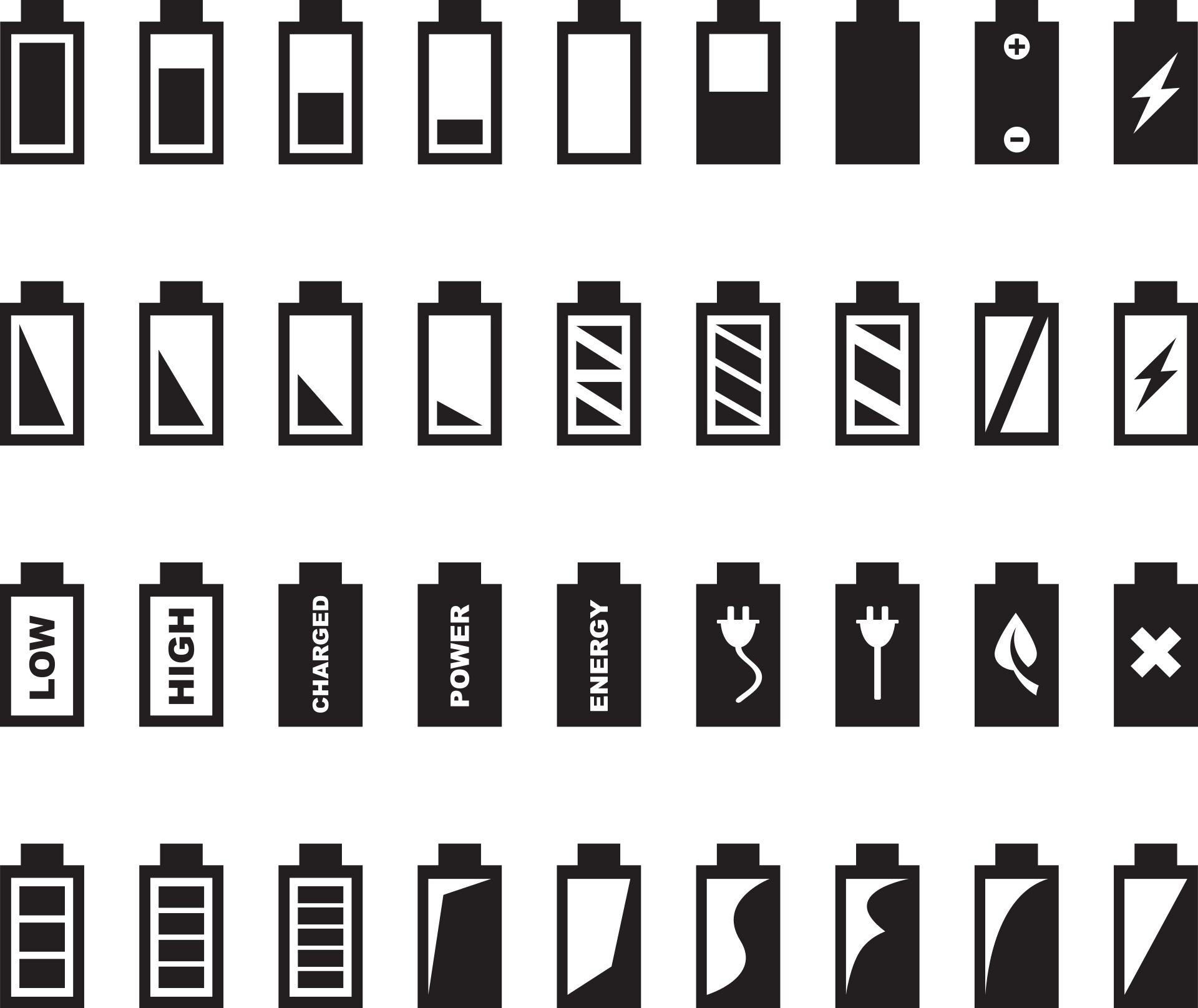 Battery icons shape perceptions of time and space and