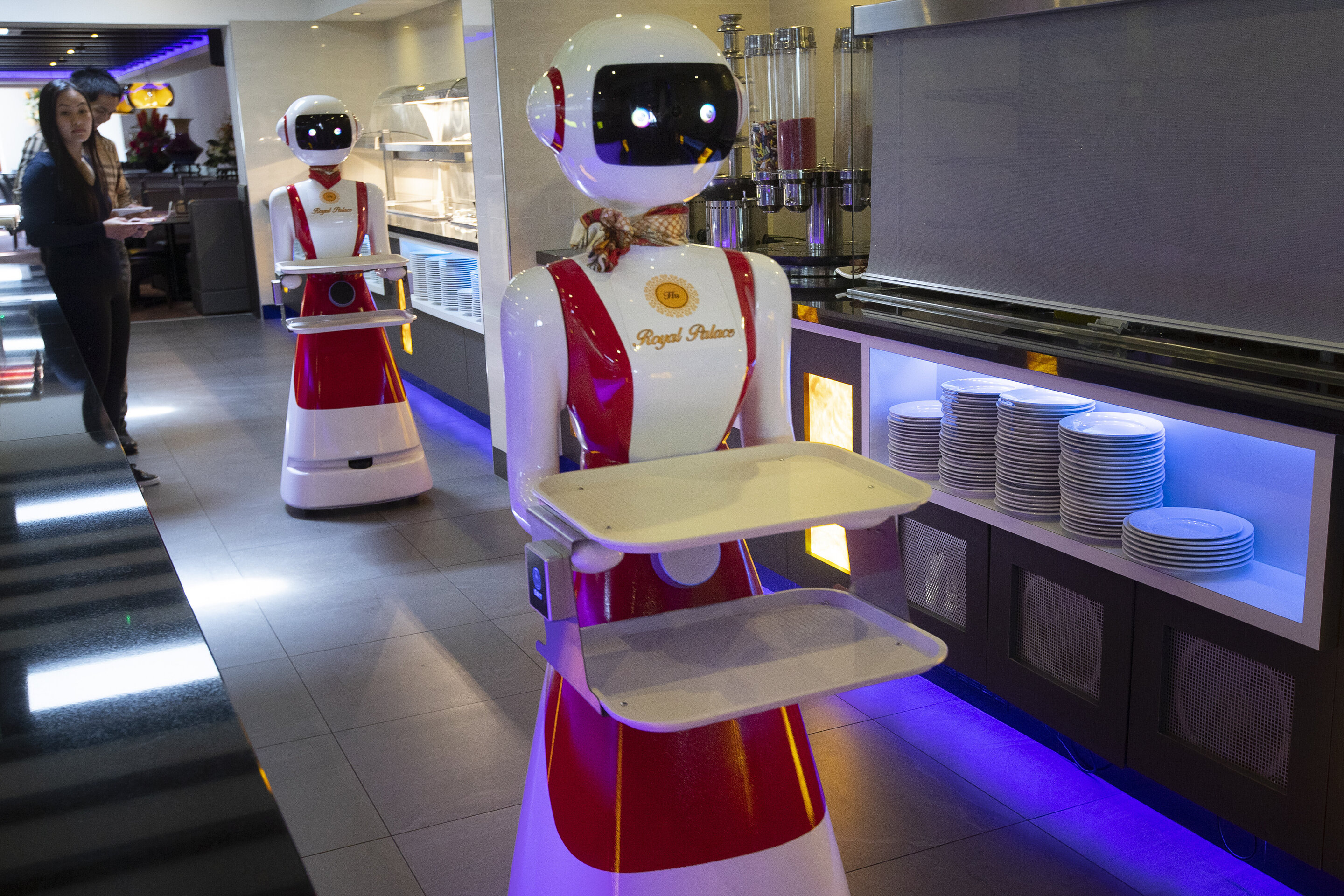 Good day and welcome: robotic waiters to the rescue amid virus