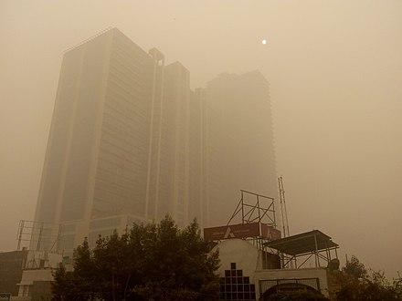 Are burning fields choking New Delhi?
