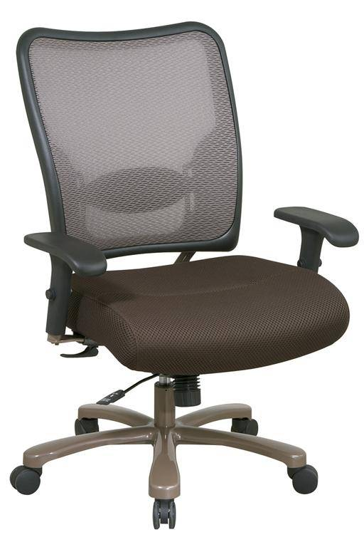 Office Star Latte Air Grid Big And Tall Mesh Office Chair FREE SHIPPING