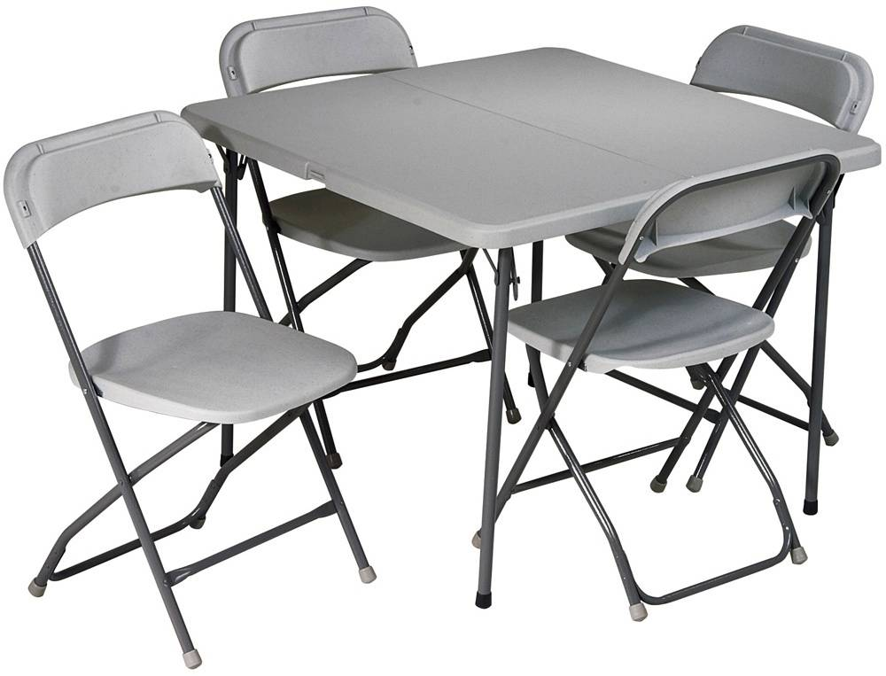 plastic table and chair set bucket seat office star 5 piece folding chairs - sd-office.com free shipping!!!!